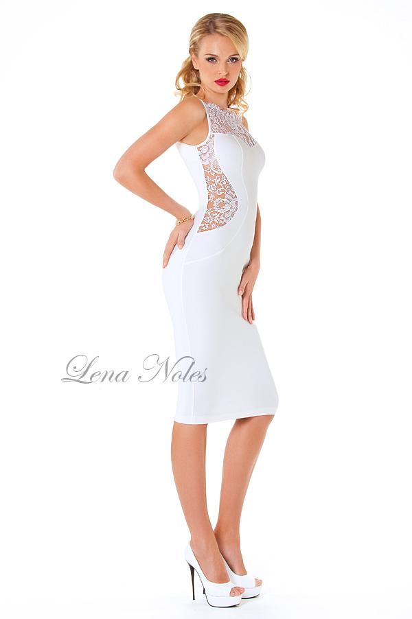 мини-платье чулок