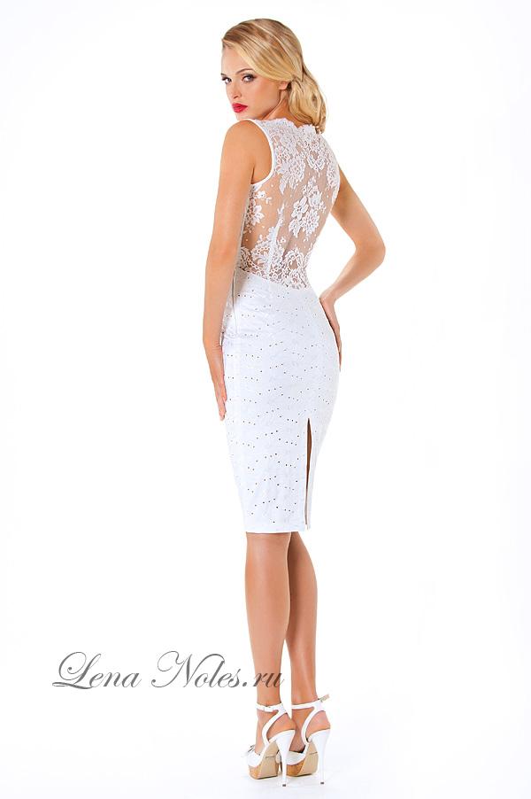 Платья с кружевами и открытой спиной фото
